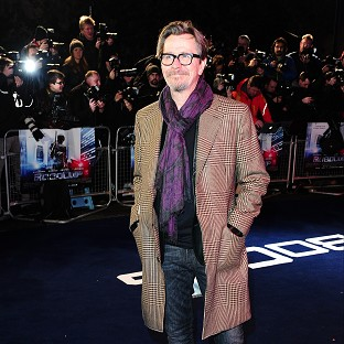 Gary Oldman would only talk about Dawn Of The Planet Of The Apes at the film's premiere
