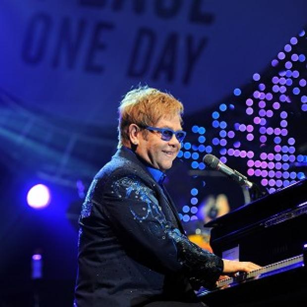 This Is Lancashire: Sir Elton John plans to marry his civil partner next year