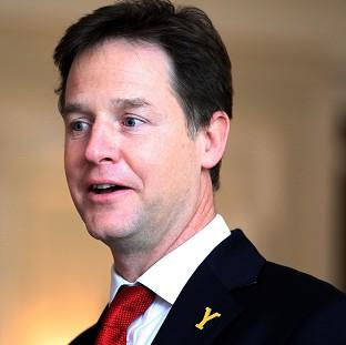 Nick Clegg has backed the introduction of new rules on flexible working