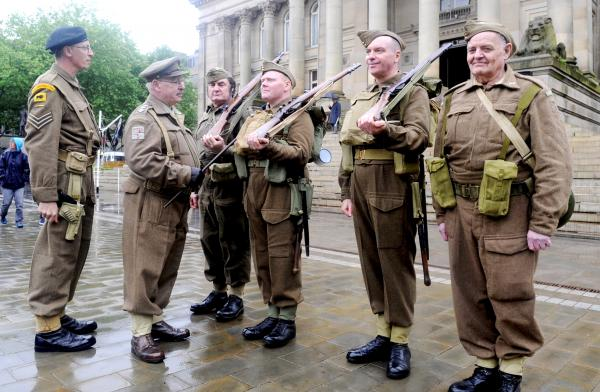 Bolton commemorates Armed Forces Day