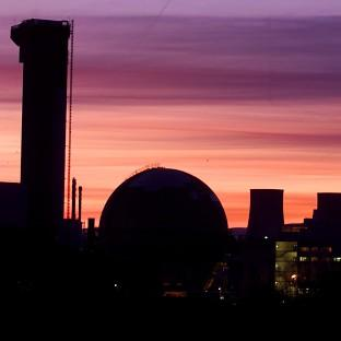 The three reactors will be built on the Moorside site near the existing Sellafield nuclear complex