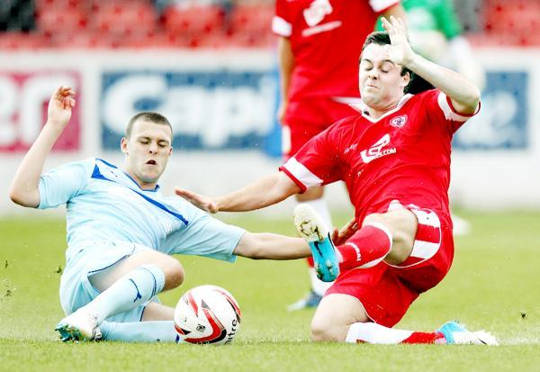 Michael Liddle has signed a new deal with Accrington Stanley