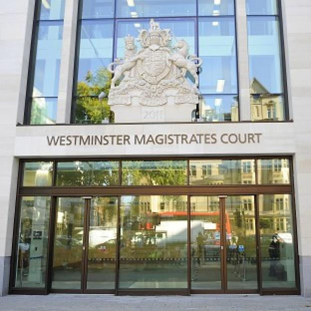 This Is Lancashire: Mark Colborne appeared at Westminster Magistrates' Court