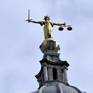 A man has denied the manslaughter of his son in a case at the Old Bailey