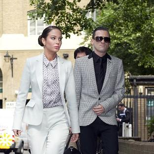Tulisa Contostavlos and Gareth Varey deny the charges against them