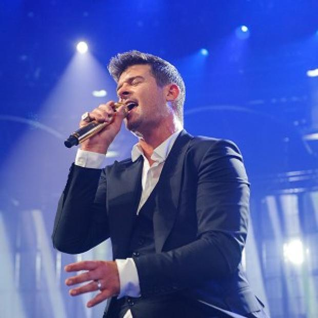 This Is Lancashire: Robin Thicke has been talking about his marriage split