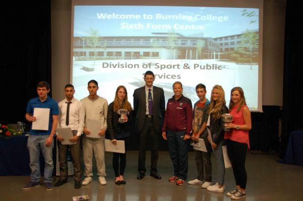 Sport and Public Service Burnley College students honoured