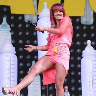 Lily Allen is going on tour with Miley Cyrus