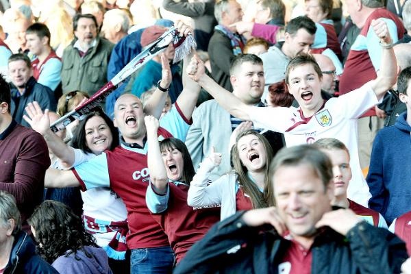 Burnley fans have snapped up season tickets