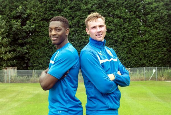 New signings Marvin Sordell and Matt Taylor