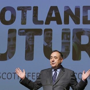 First Minister Alex Salmond accused David Cameron of 'playing roulette' over Scotland's future