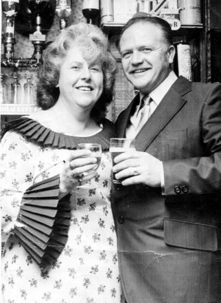 Joyce Leaver and husband Clifford