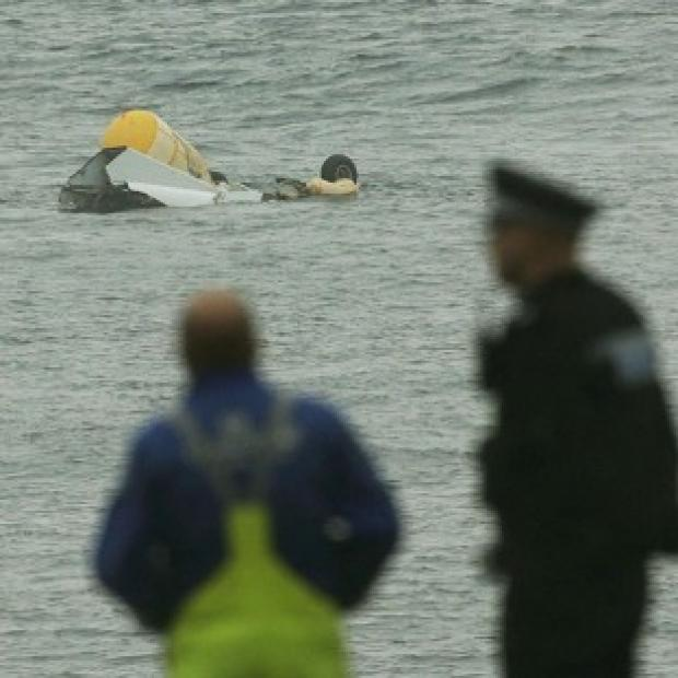 This Is Lancashire: Four people died when a Super Puma helicopter crashed in the North Sea near Sumburgh last August