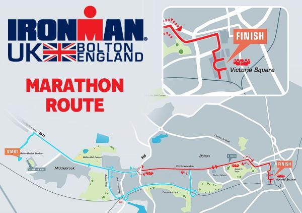 Ironman marathon route map