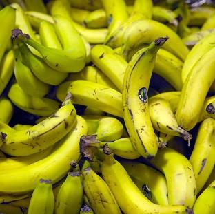 This Is Lancashire: The cocaine was found hidden in plastic fruit concealed among a shipment of bananas