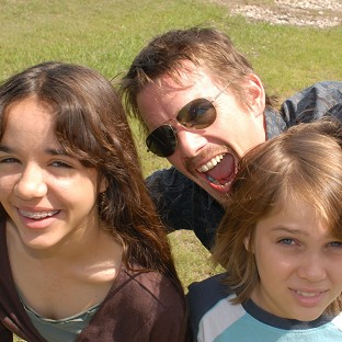 Richard Linklater's daughter Lorelei stars with Ethan Hawke and Ellar Coltrane in his latest film Boyhood