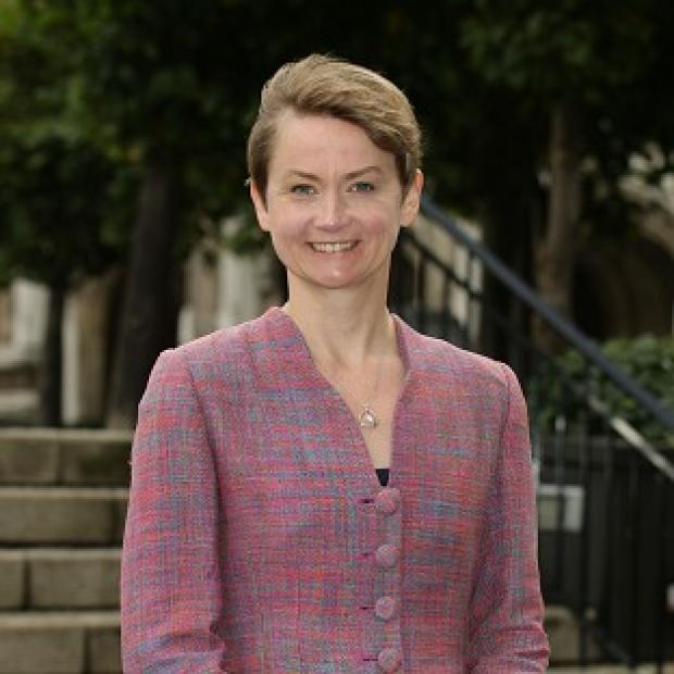 This Is Lancashire: Shadow home secretary Yvette Cooper has accused the Prime Minister of having a 'real blind spot' over women
