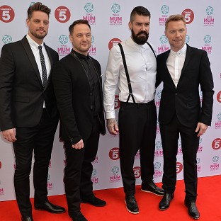 Boyzone stars thrilled by park fans