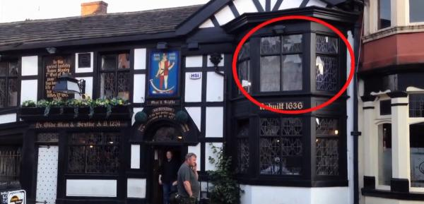 New footage purporting to show the 'ghost' at Ye Olde Man & Scythe
