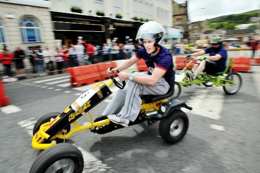 Pedal power in abundance at Darwen Grand Prix
