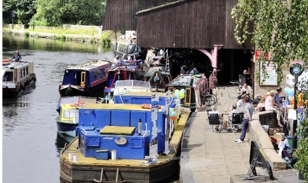 This Is Lancashire: The festival at Eanam Wharf