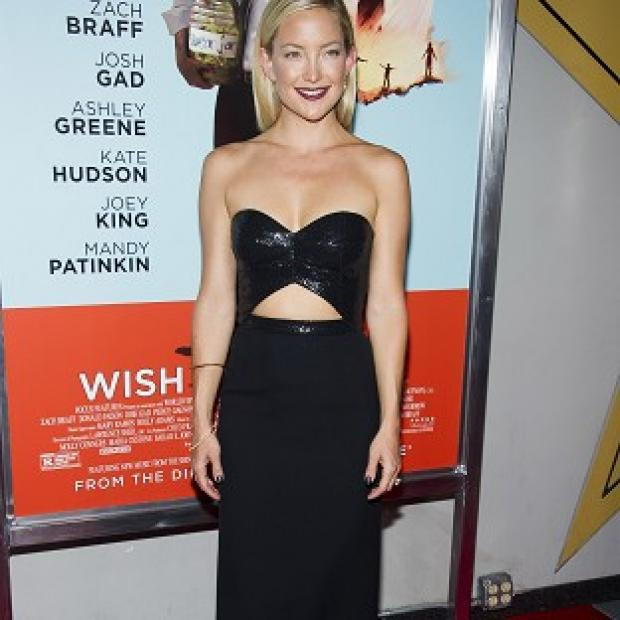 This Is Lancashire: Kate Hudson showed off her stunning figure at the premiere of her new film Wish I Was Here