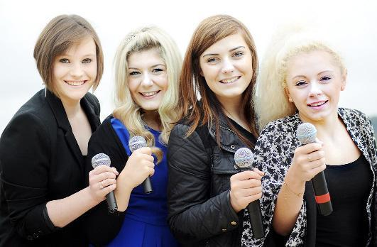This Is Lancashire: Girl band Arizona, from Alder Grange College