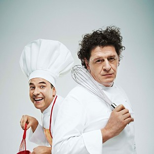 Marco Pierre White has admitted to David Walliams he didn't try baked beans until he was in his 40s