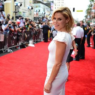 Julie Bowen arrives at the world premiere of Planes: Fire And Rescue in Los Angeles