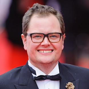 Alan Carr is preparing for his summer special