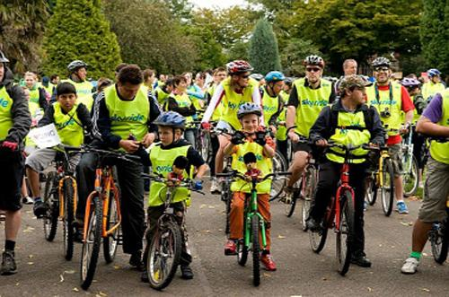 GUIDED ROUTES Sky Ride Local is aimed at cyclists of all ages and abilities