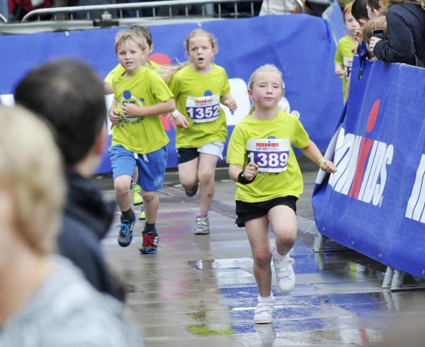 Thousands of children take part in Ironkids