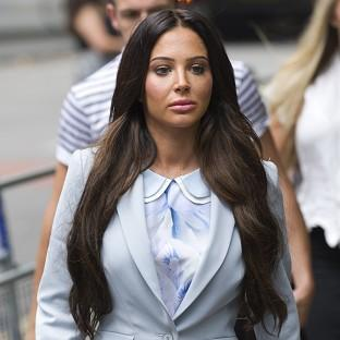 Tulisa Contostavlos arrives at Southwark Crown Court in London