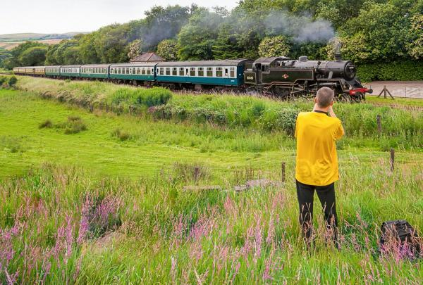 East Lancashire Railway running photography courses