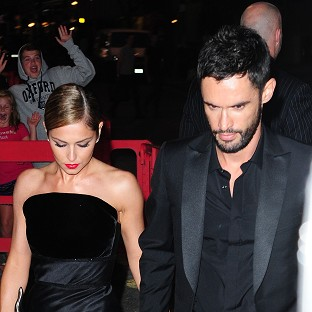 Cheryl marks nuptials with party