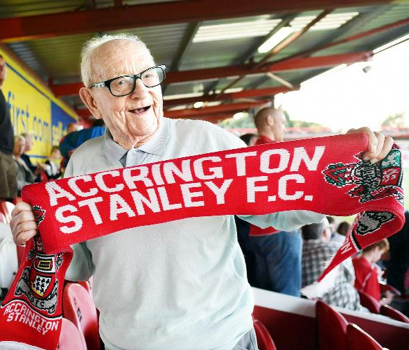 Club stalwart's grandson back at Stanley 92 years on