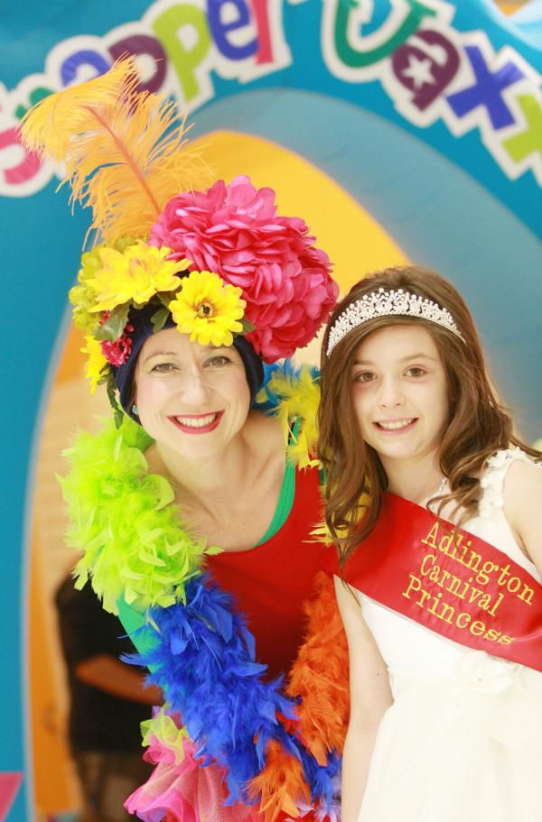 Adlington Carnival princess is guest of honour at summer children's club