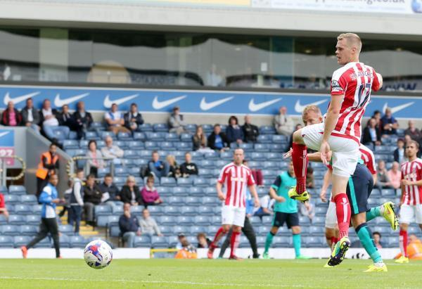 Jordan Rhodes heads Rovers in front