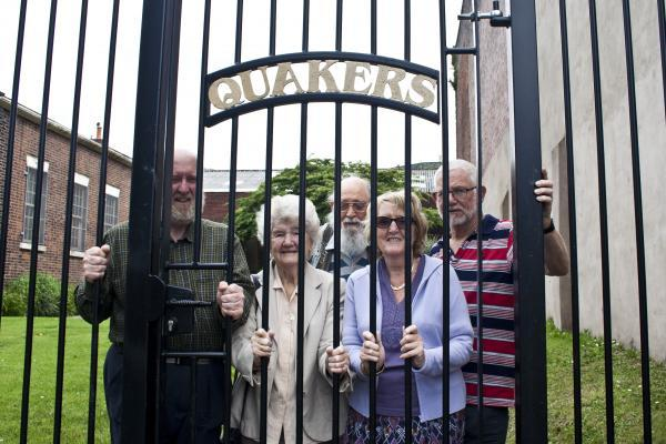 Blackburn Quaker Meeting House fenced off because of anti-social behaviour