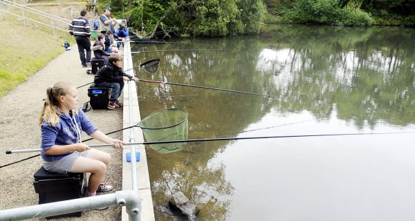 Fishing is now on curriculum at Smithills School