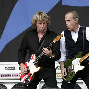 Rick Parfitt (left) of Status Quo is recovering from a heart operation