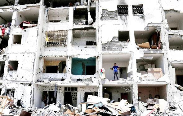 Palestinian-born East Lancs councillor critical of response to Gaza conflict