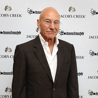 Sir Patrick Stewart has tweeted about going to his first music festival