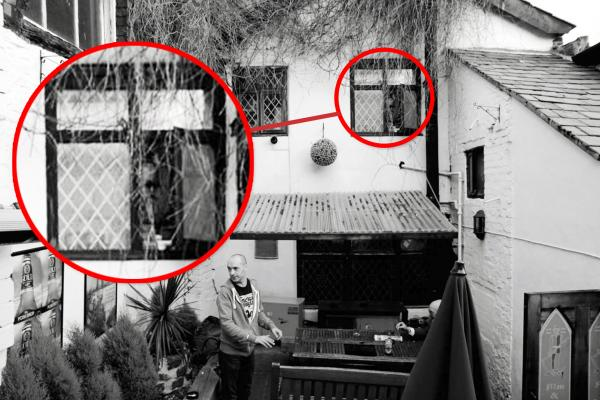Who is the creepy face in the window? Another 'ghostly' sighting at pub
