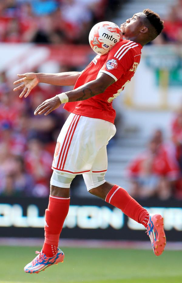 SUMMER SIGNING Forest paid £5.5million for Britt Assombalonga