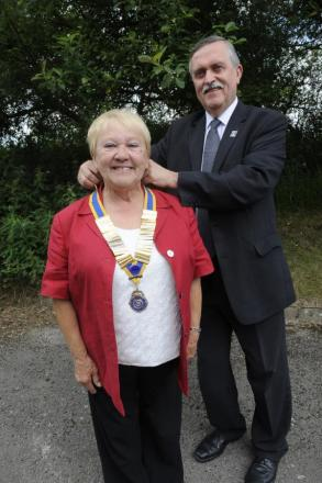 Jean Turton, aged 71, acceded the role for the first time on June 30 when she was handed th