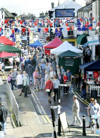 It is hope Darwen's food festival will be as popular as the one in Clitheroe