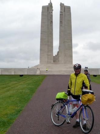 Clitheroe man cycles 400 miles for charity