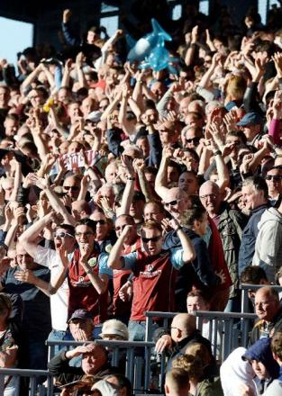 RAISE THE ROOF: Burnley chairman urges fans to lift Clarets