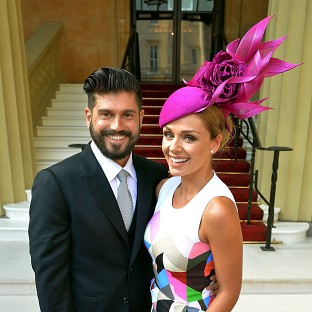 Katherine Jenkins and Andrew Levitas are engaged